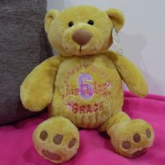 Personalised Happy Birthday Teddy Bear